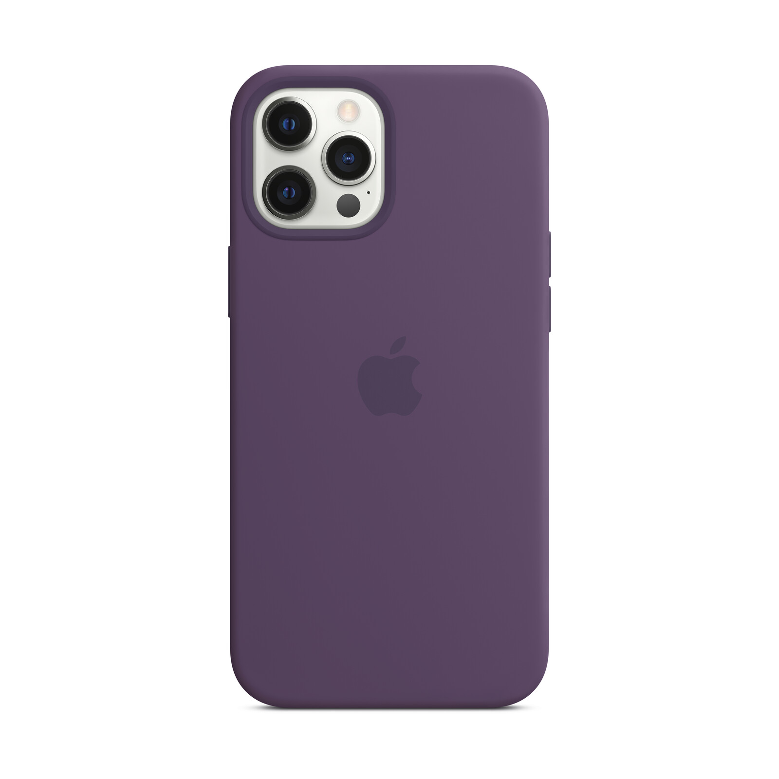 Apple iPhone 12 Pro Max Silikon Case mit MagSafe amethyst