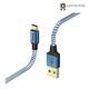 Hama Lade-/Datenkabel Reflective USB Type-C - USB-A 1,5m