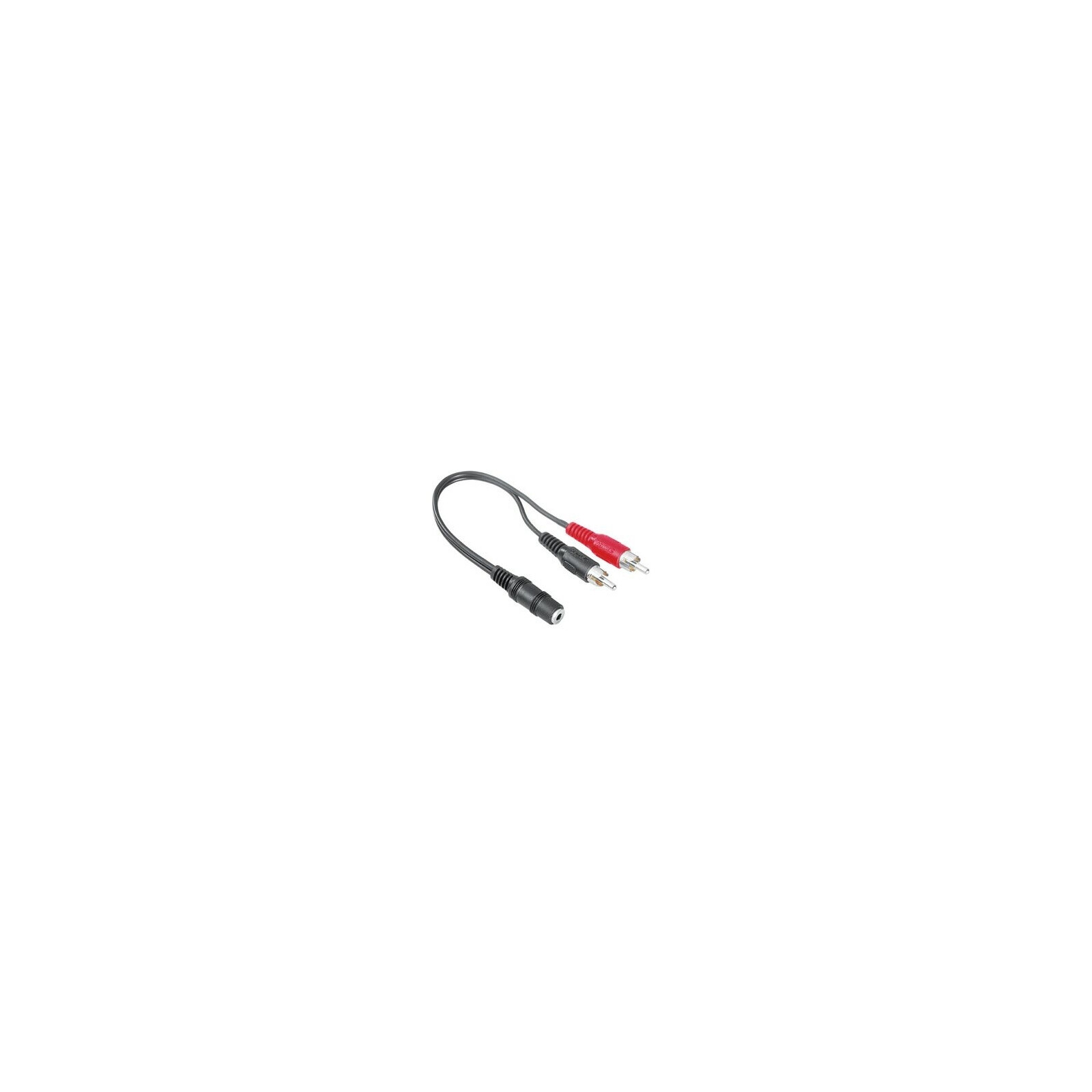 Hama 48920 2 Cinch-Stecker - 3,5-mm-Klinkenkupplung Stereo