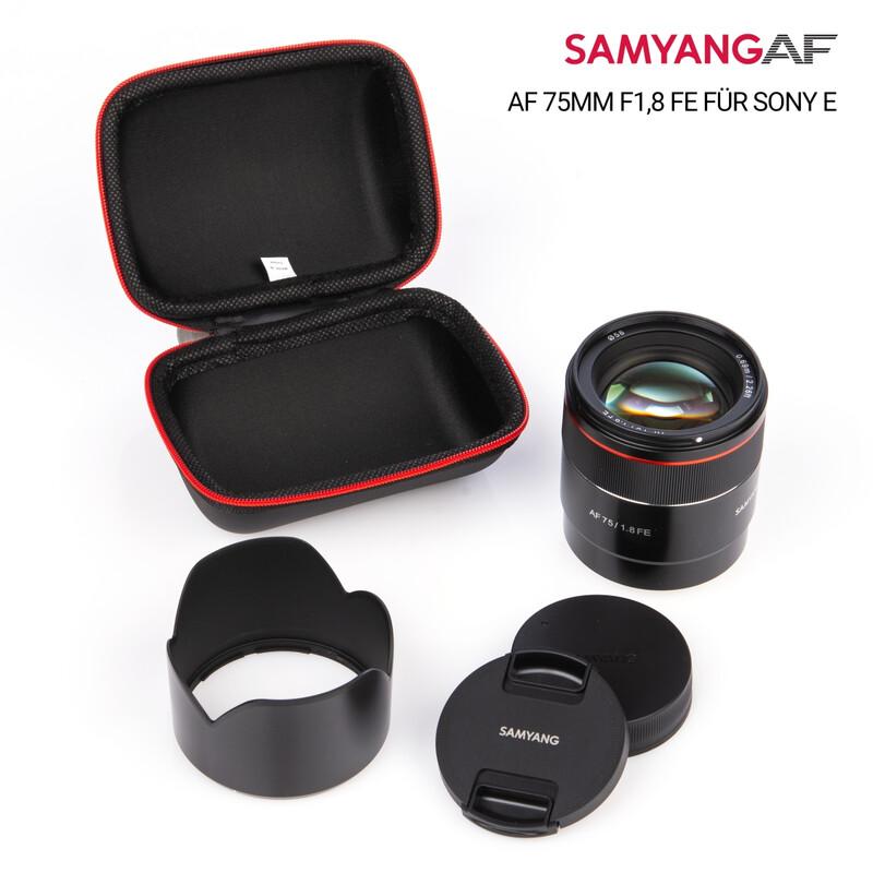 Samyang AF 75/1.8 FE für Sony E - Tiny but Absolute