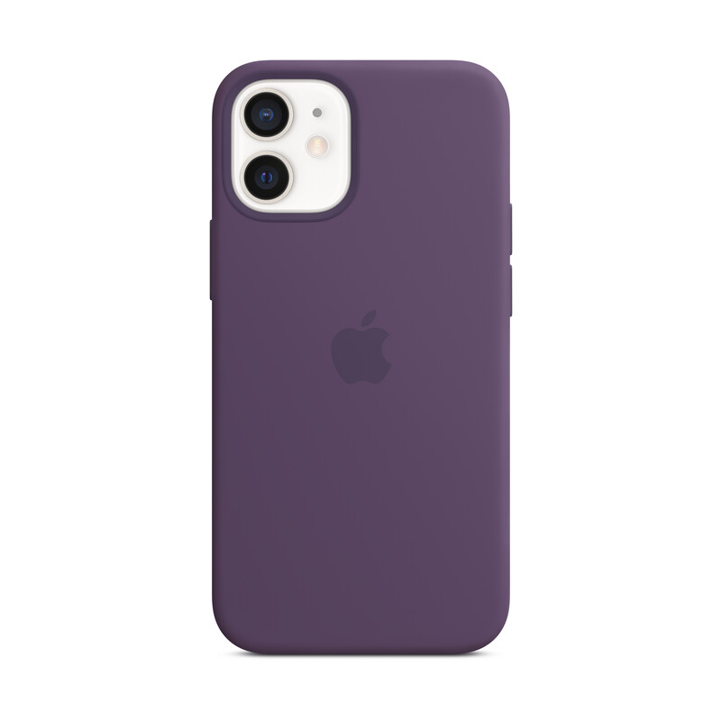 Apple iPhone 12 mini Silikon Case mit MagSafe amethyst
