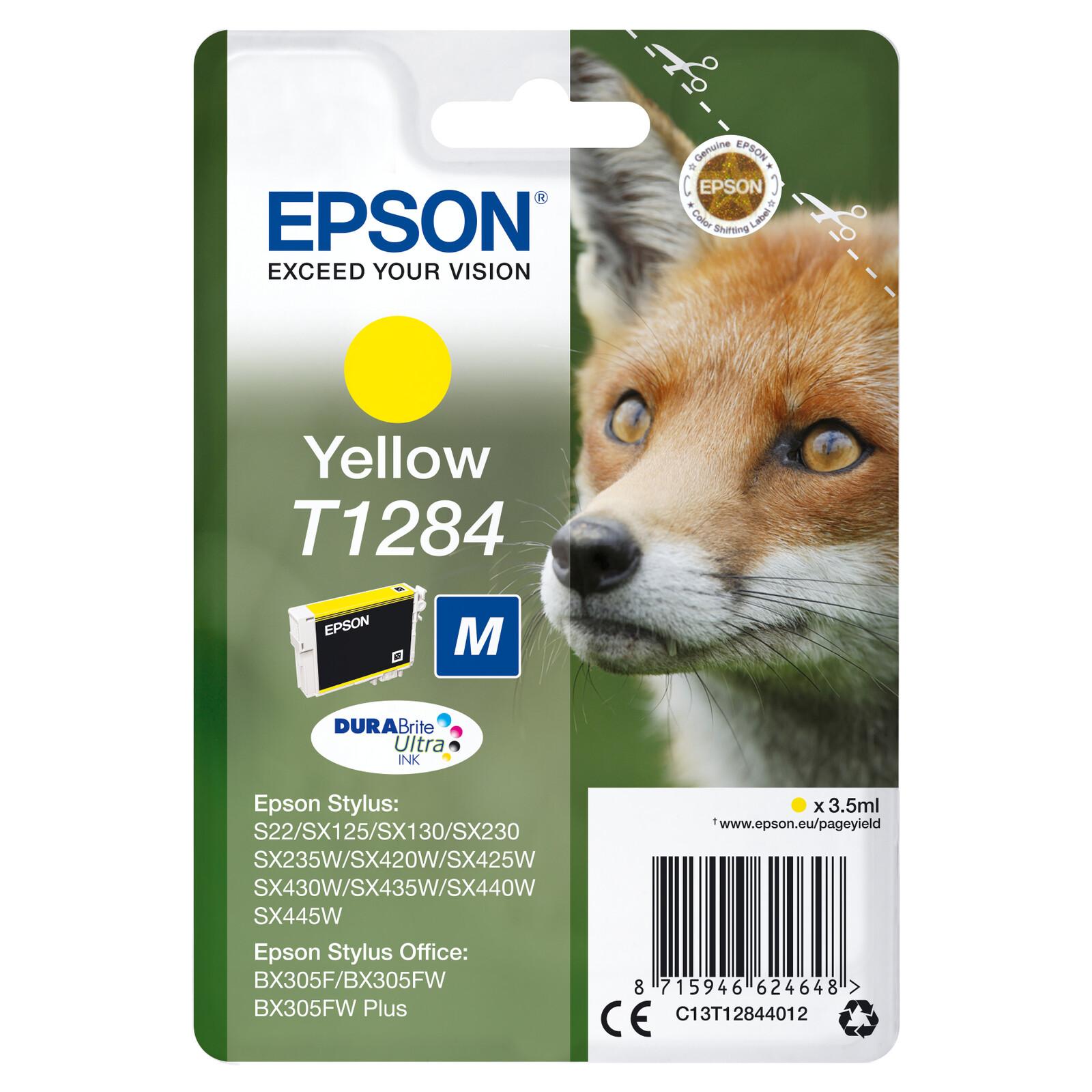 Epson T1284 Tinte Yellow 3,5ml