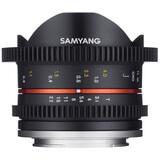 Samyang MF 8/3,1 Fisheye Video APS-C Sony E