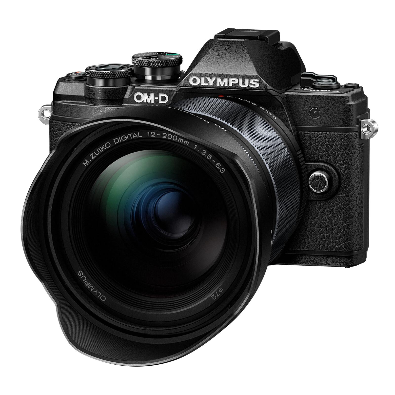Olympus OM-D E-M10 Mark III + 12-200/3,5-6,3 Schwarz