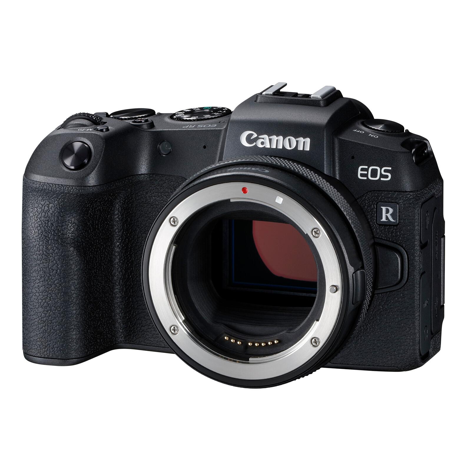 Canon EOS RP + Adapter EF-EOS R -150,-€ Sofortrabatt