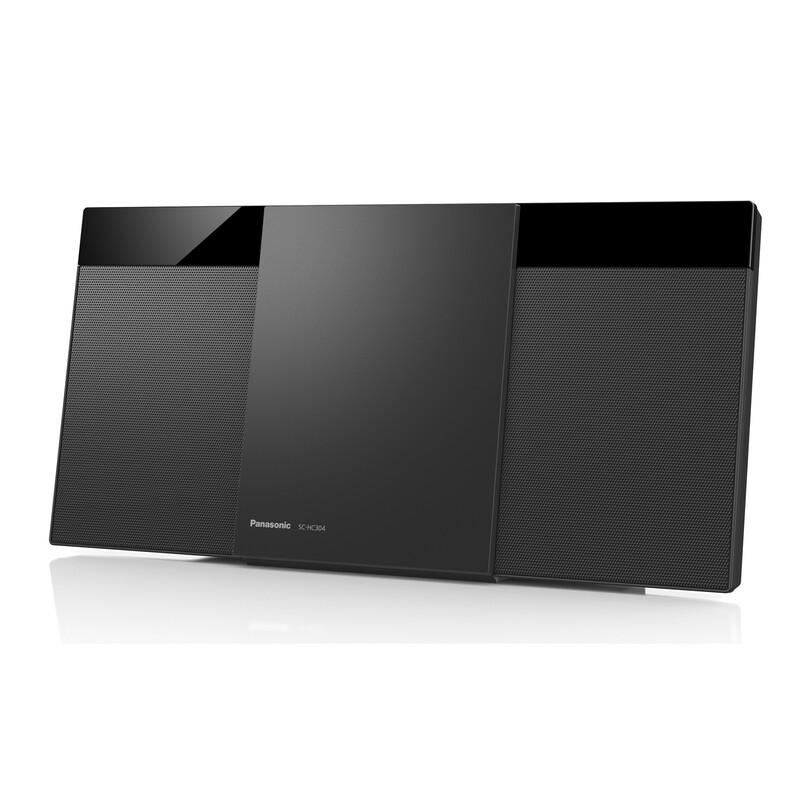 Panasonic SC-HC304EG-K Micro HiFi System