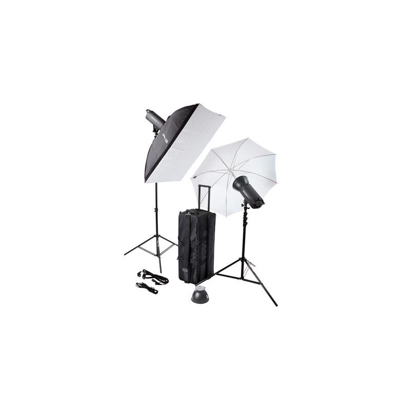 Helios 600P II Profi-Blitzstudio 2er-Set