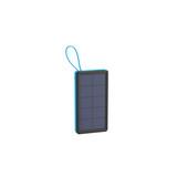 Xlayer Powerbank Solar Wireless Black/Blue 10000 mAh