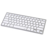 Hama Bluetooth-Tastatur KEY4ALL x510 silber/weiß