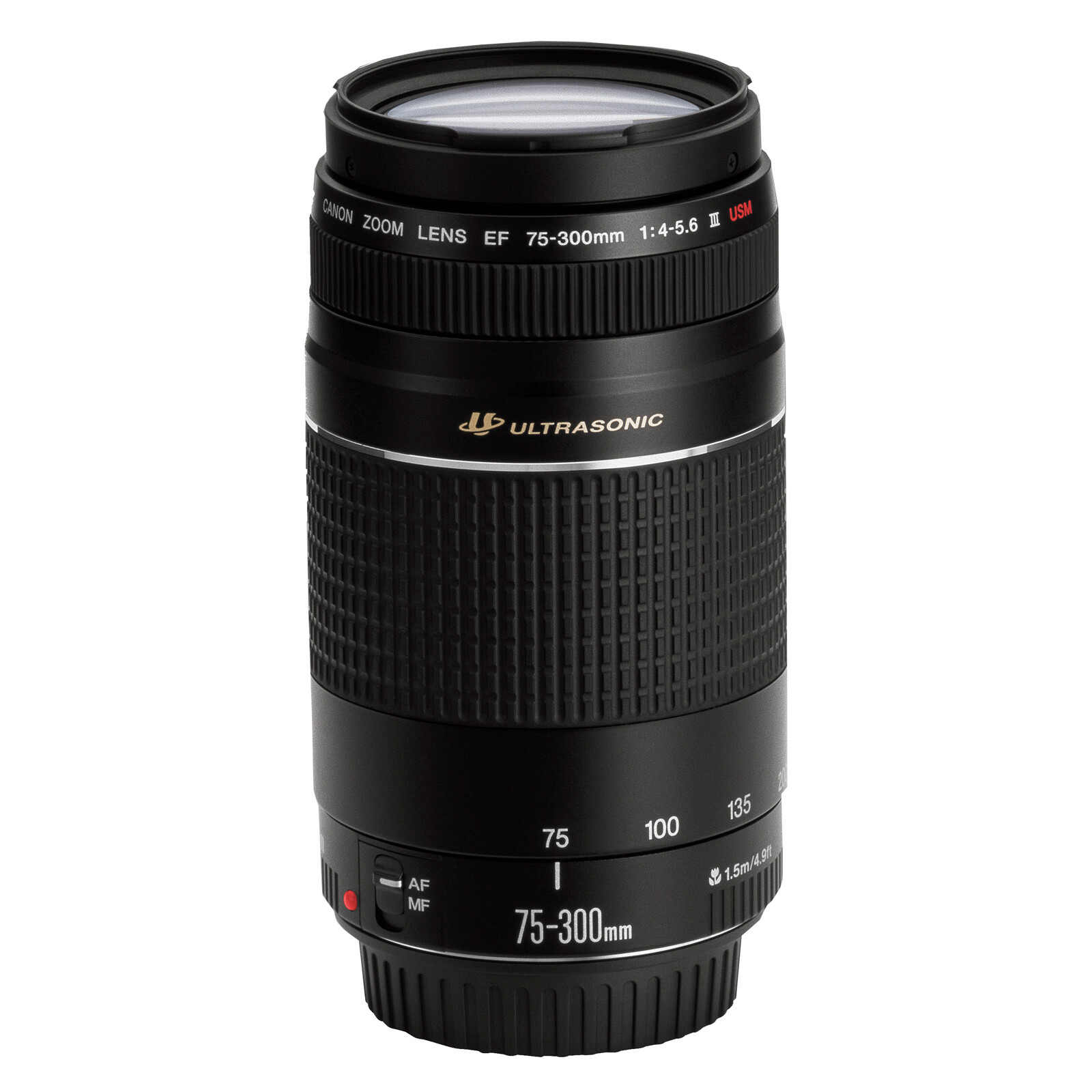 Canon EF 75-300/4,0-5,6 III USM + UV Filter