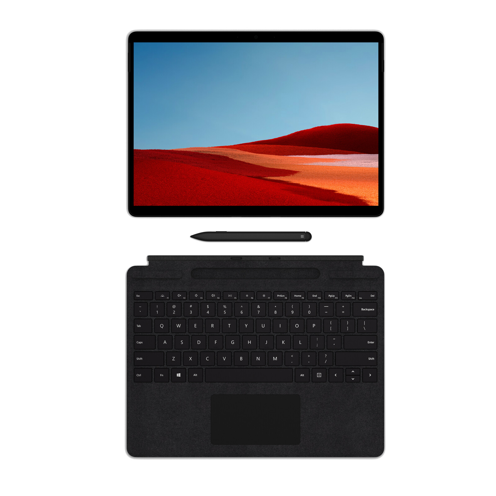 "Microsoft Surface Pro X LTE 13"" E/8GB/256GB SSD schwarz"