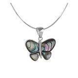Stilvoller Schmetterlingsanhänger mit Kette