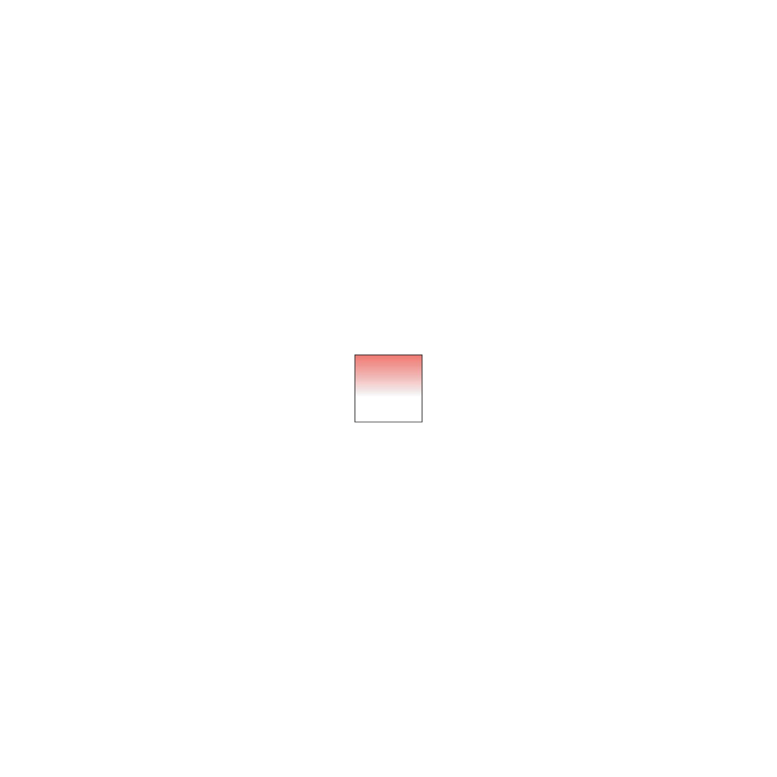 Cokin P664 Verlauf leuchtend Rot 1