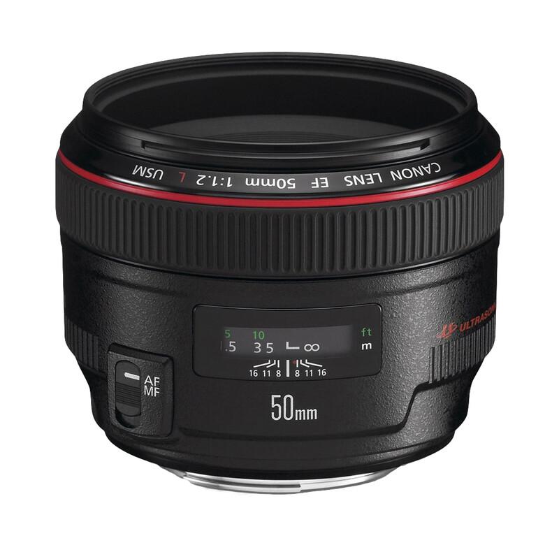 Canon EF 50/1,2L USM