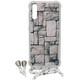 Axxtra Back Crossbody Sam Galaxy A50 white marble