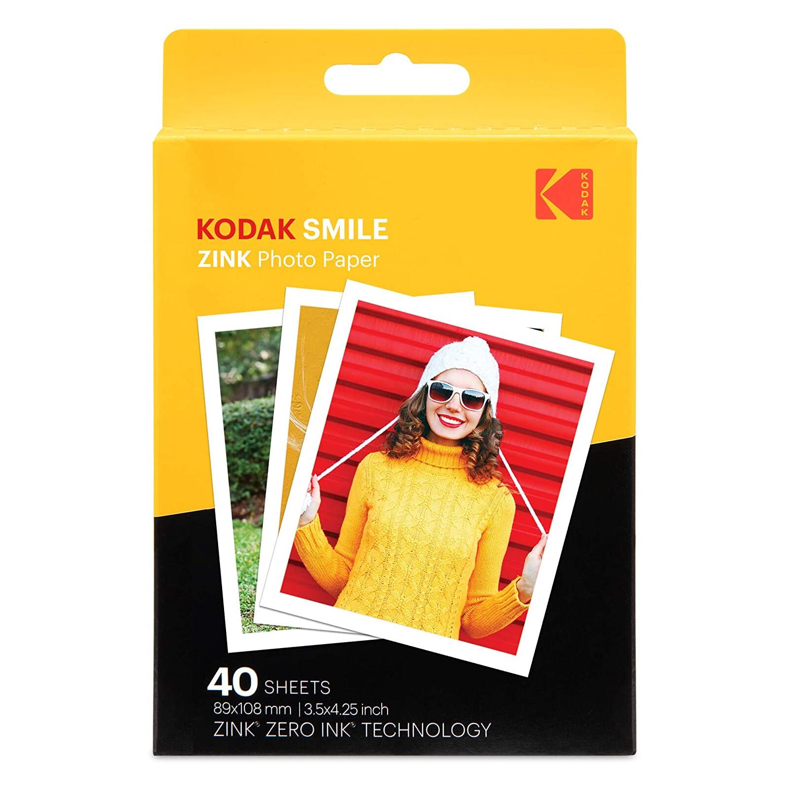 Kodak Zink Papier 40er Pack
