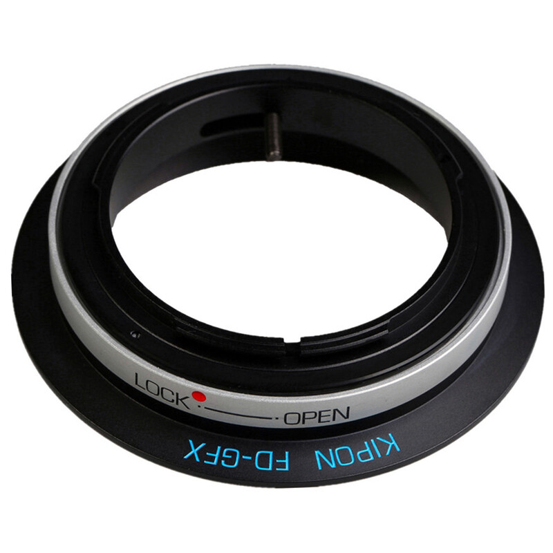 Kipon Adapter für Canon FD auf Fuji GFX