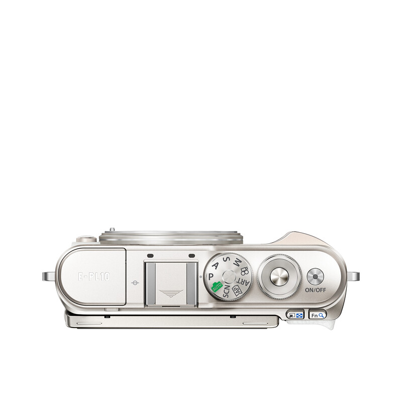 Oly E-PL10 Gehäuse Weiß