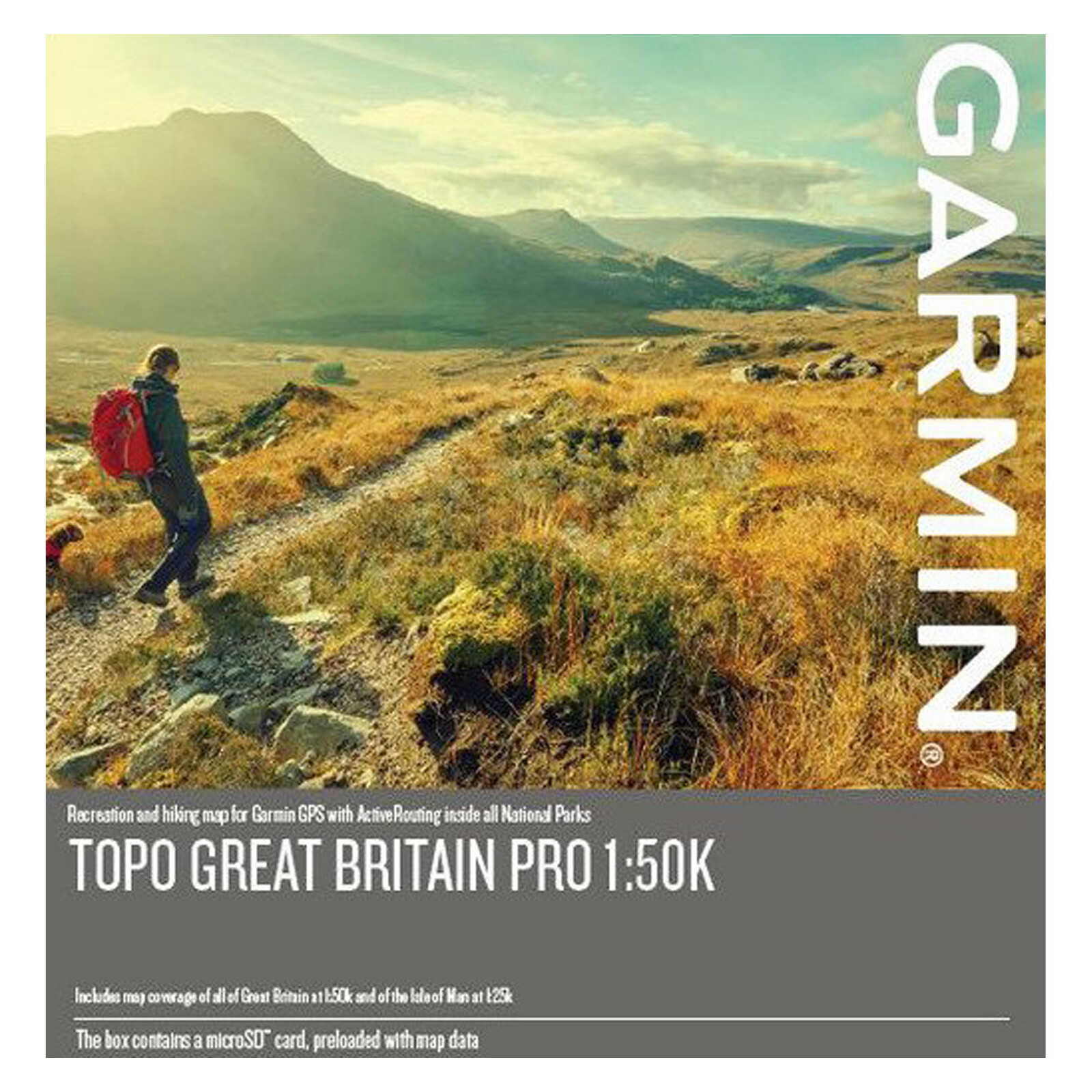 Garmin Topo PRO Great Britain 1:50k mSD/SD