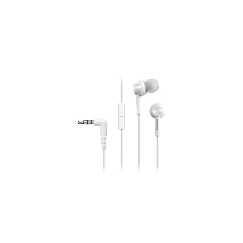 Panasonic RP-TCM115E In-Ear Headset Weiß