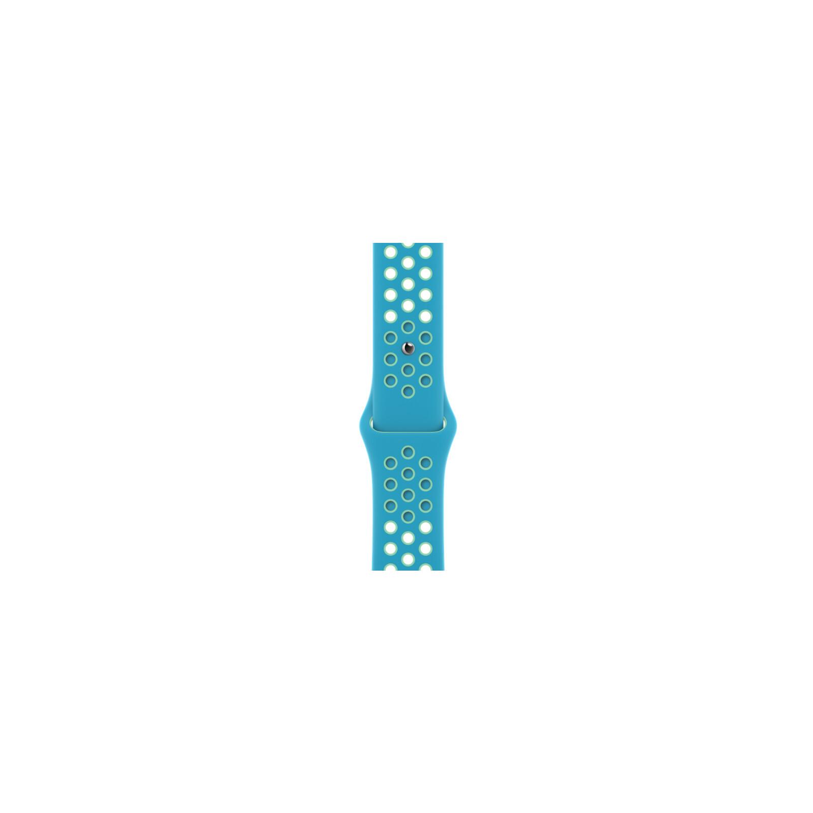 Apple Watch 44mm Nike Sportarmband chlorine blue/green