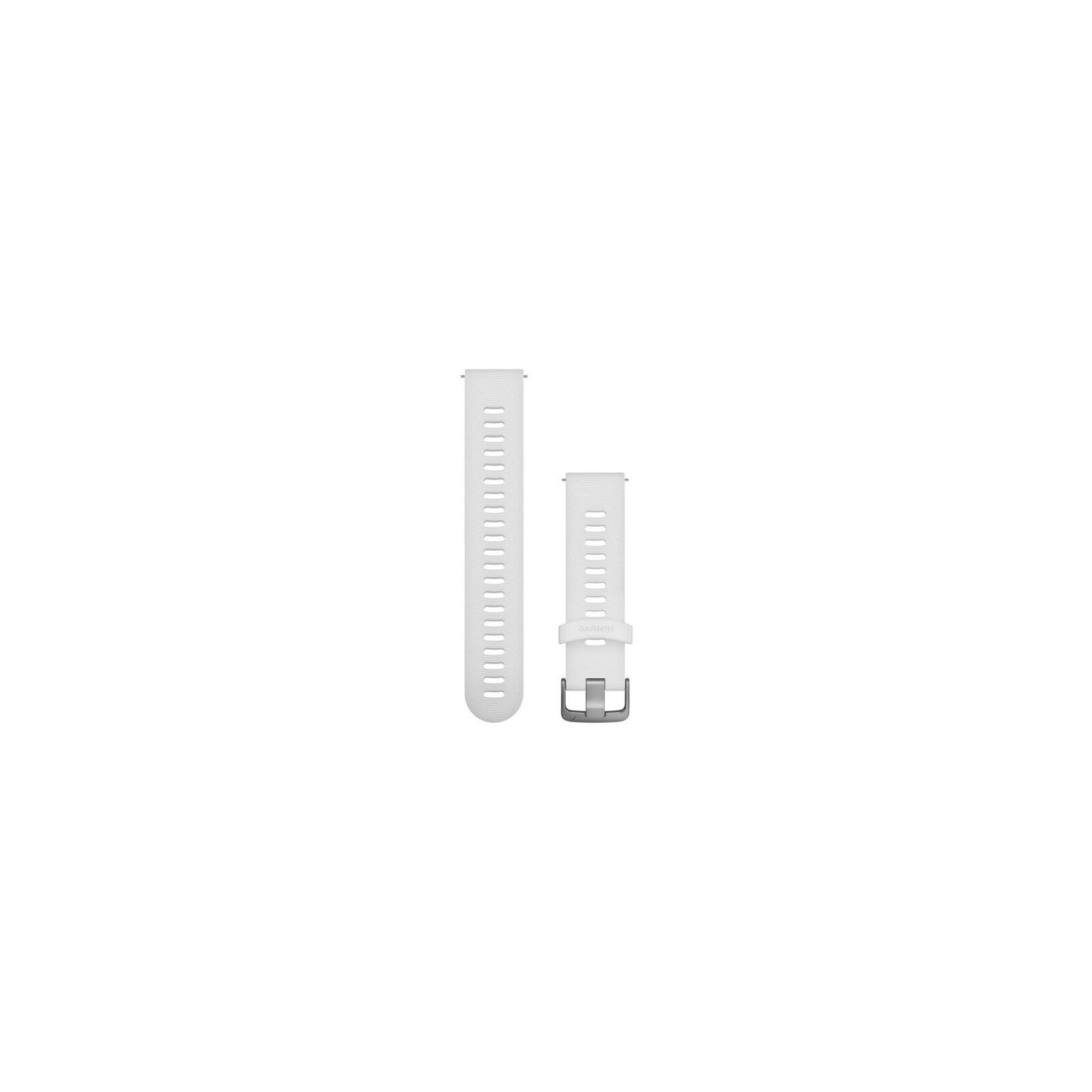 Garmin Uhrenarmband Forerunner 20mm Silikon Weiß