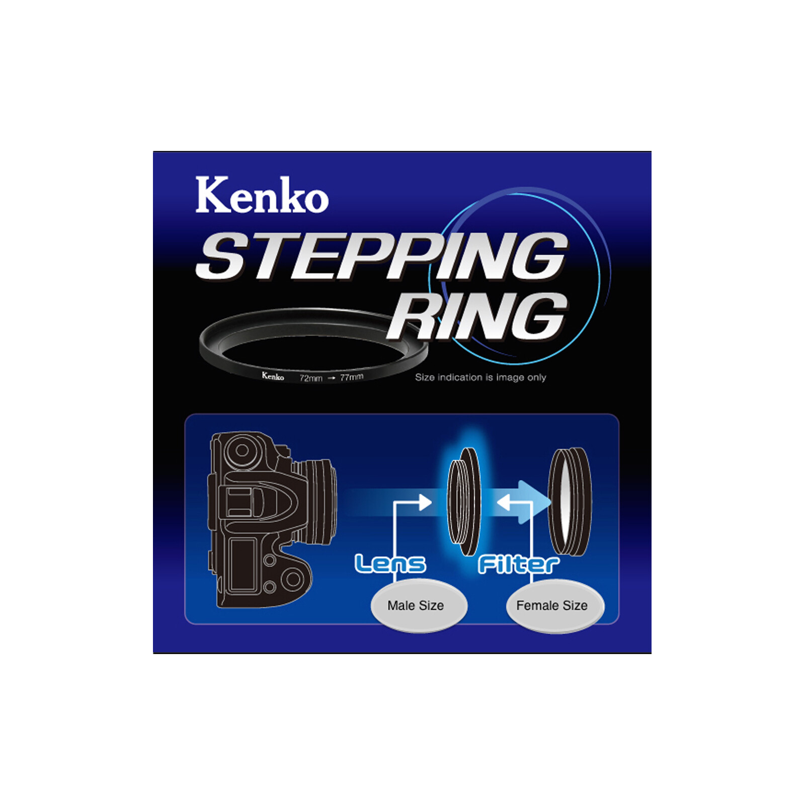 Kenko Adapterring 62 - 77