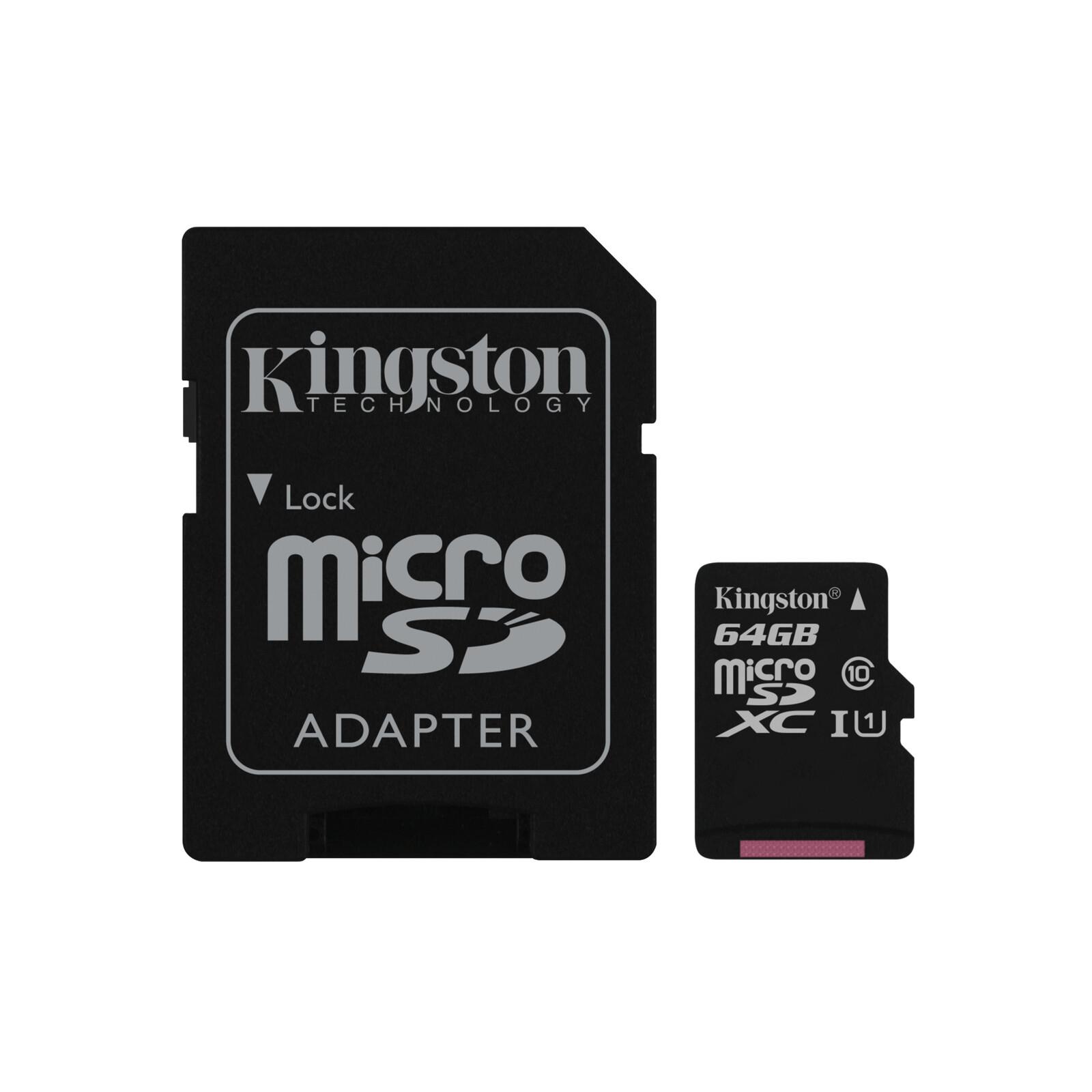 Kingston mSDXC 64GB Canvas Select C10