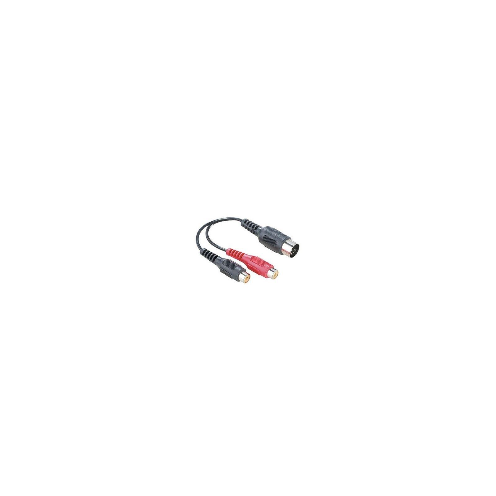 Hama 43336 Audio-Adapter 2 Cinch-Kupplungen - 5-pol.-DIN-Ste