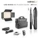 Walimex pro LED Niova 900 Plus Bi Color Set mit  WT-806 Stat