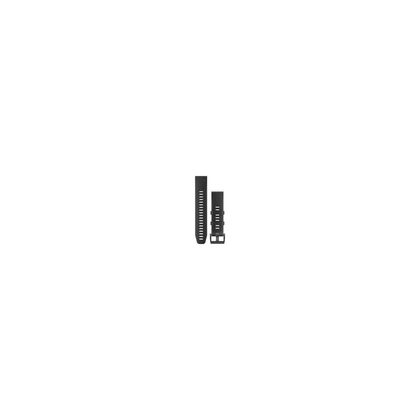 Garmin QuickFit 22 Uhrenband Silikon Schwarz/Schwarz