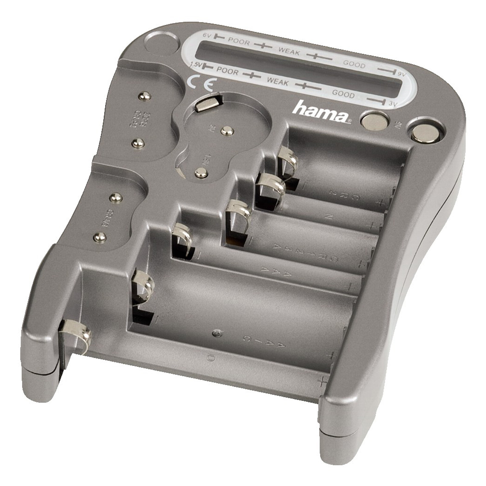 Hama 74021 Akku-/Batterie-Prüfer BT2