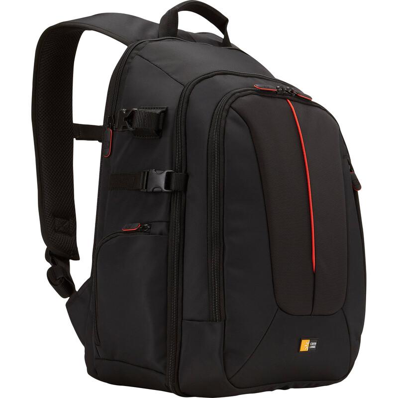 CaseLogic SLR Backpack black red