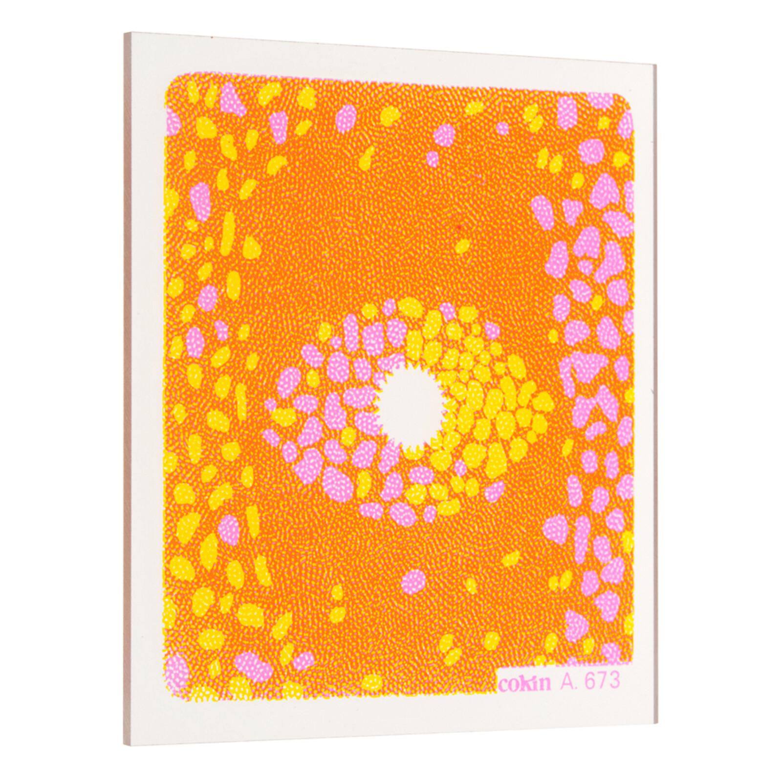 Cokin A673 Center Spot 2 Gelb/Pink