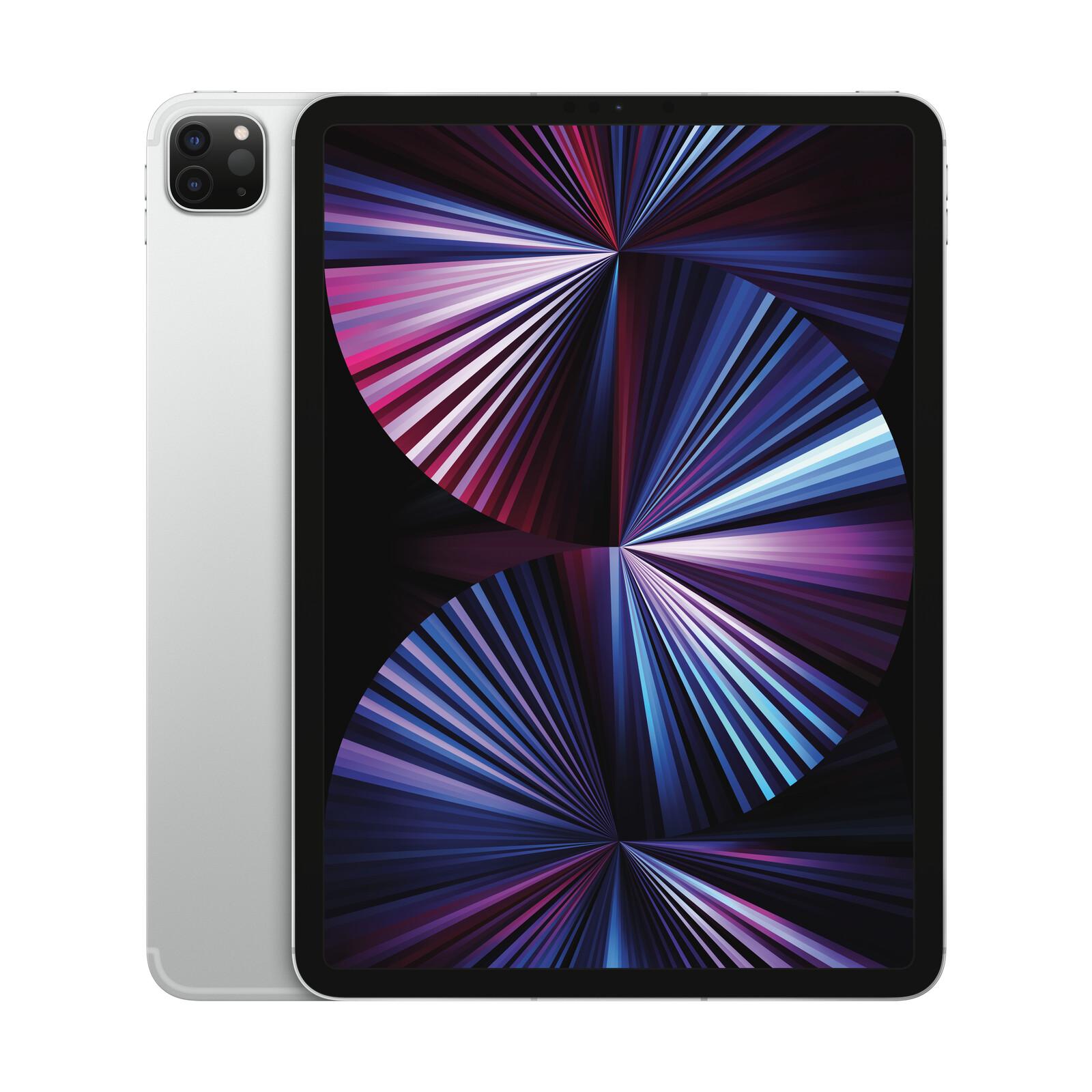 Apple iPad Pro 11'' Wi-Fi+Cellular 2TB 2021 silber