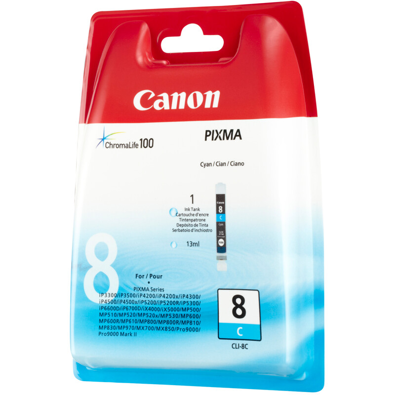Canon CLI-8C Tinte cyan 13ml