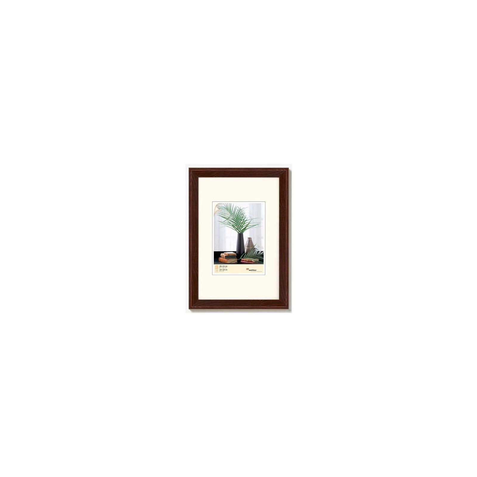 Bilderrahmen Bologna 15x20cm Holz nuß