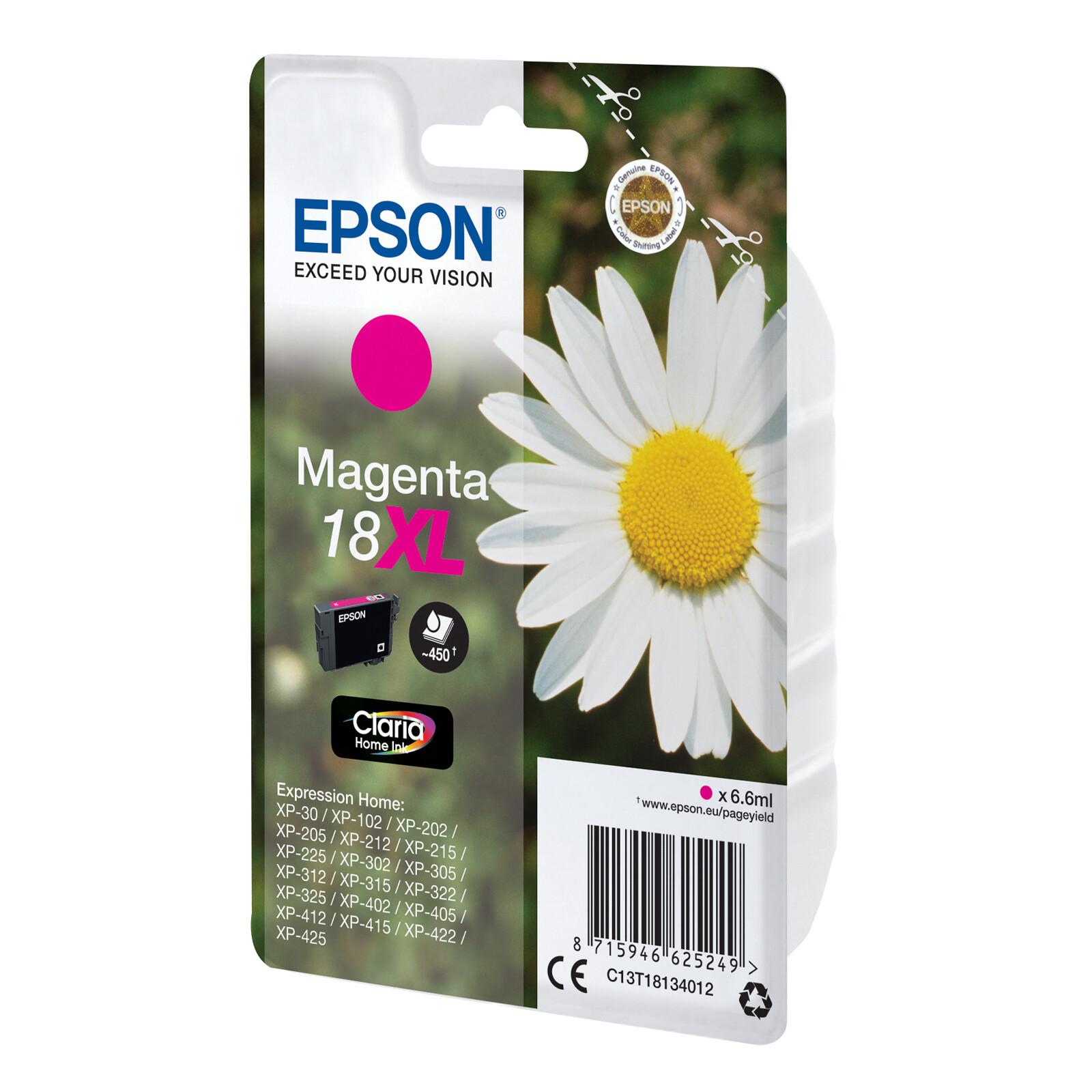 Epson 18XL T1813 Tinte Magenta 6,6ml