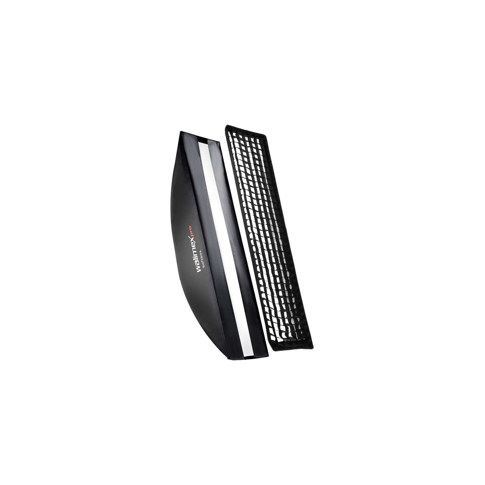 walimex pro Softbox PLUS OL 22x90cm + Uni Adapter