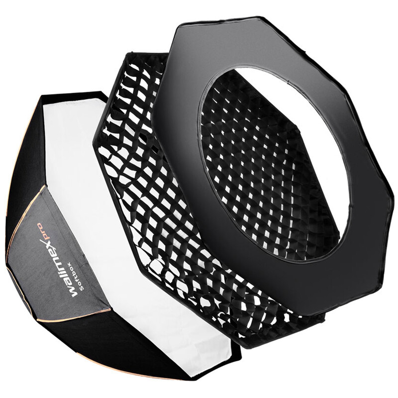 walimex pro Octagon Softbox PLUS OLØ60 Uni Adapter