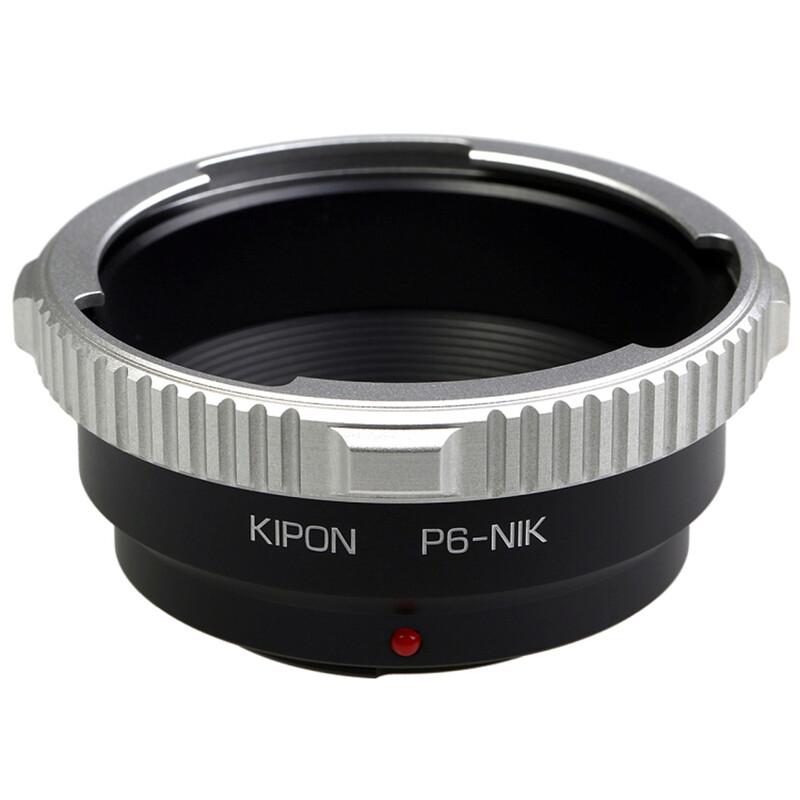 Kipon Adapter für Pentacon 6 auf Nikon F
