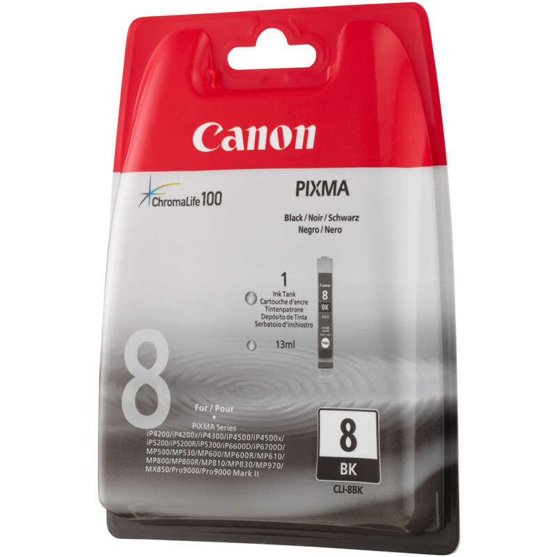 Canon CLI-8BK Tinte black 13ml