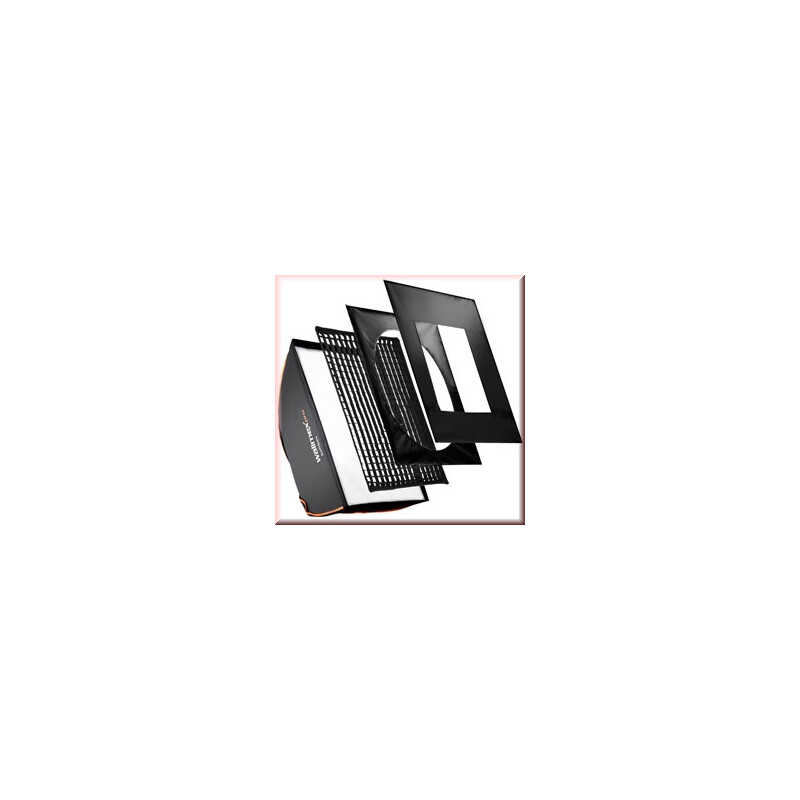 walimex pro Softbox PLUS OL 90x90cm C&CR Serie
