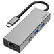 Hama 200108 USB-C-Multiport-Adapter 4 Ports