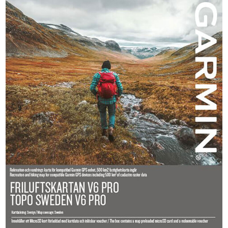 Garmin Topo Sweden v6 PRO mSD/SD