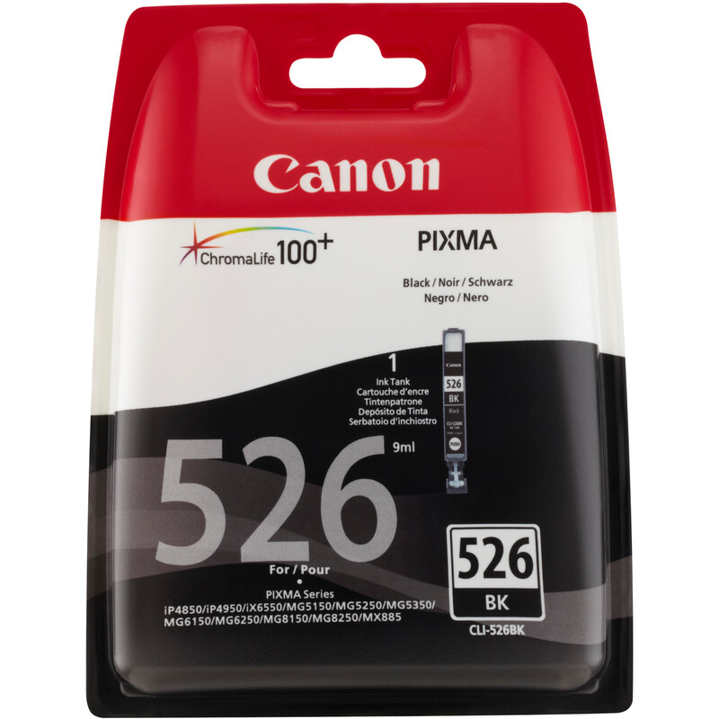 Canon CLI-526BK Tinte black 9ml