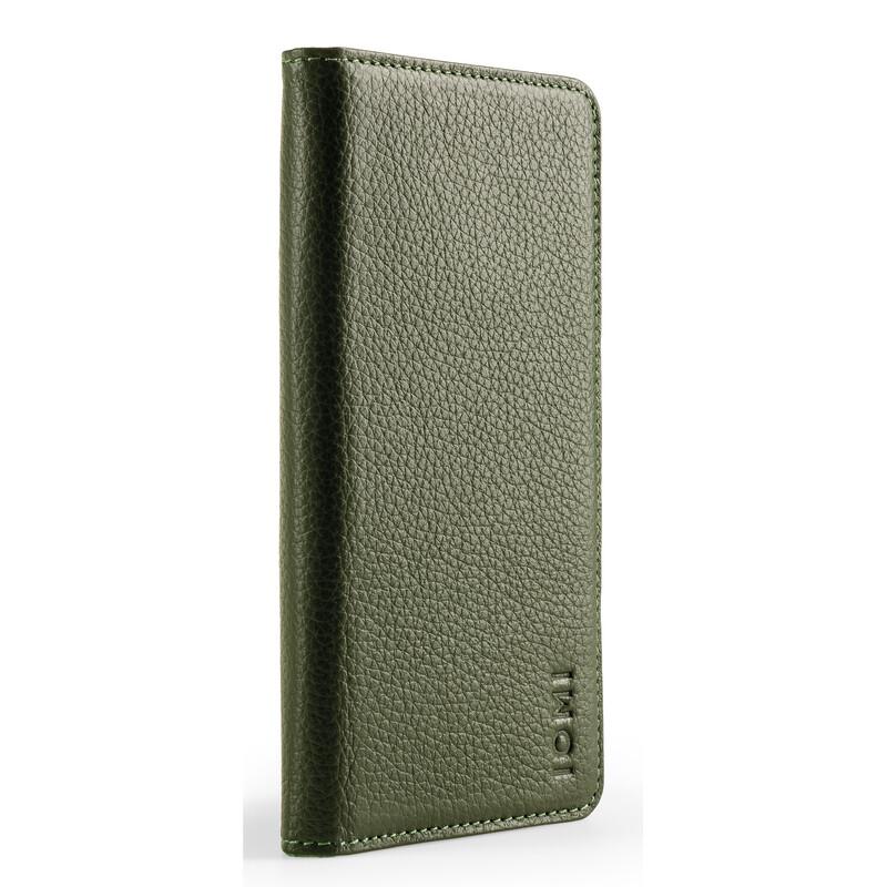 IOMI 2in1 Book Case Apple iPhone XS olive