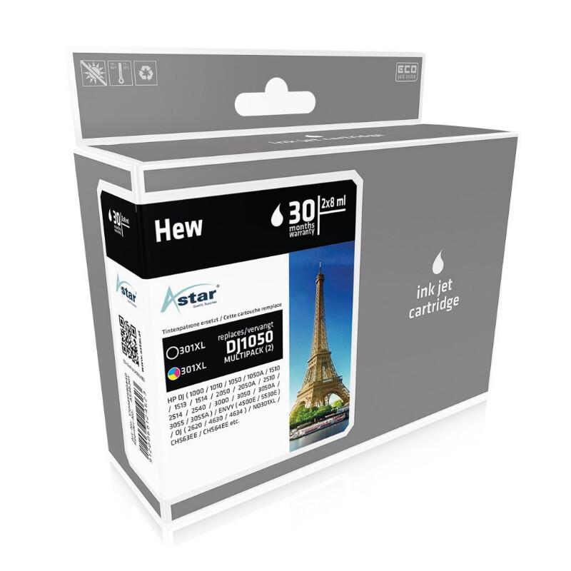 Astar HP 301XL Combo Pack 1x2