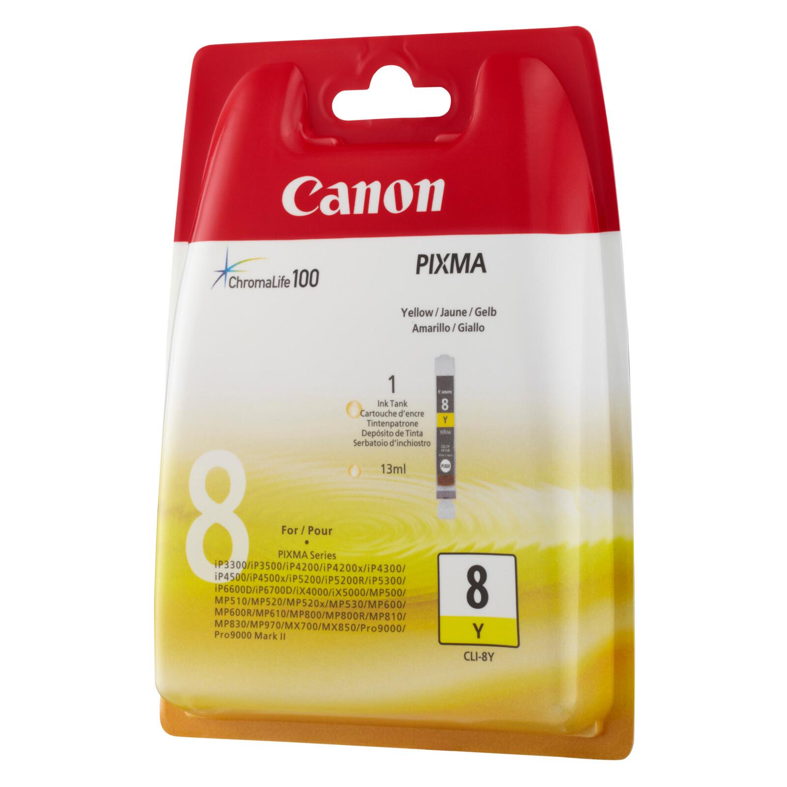 Canon CLI-8Y Tinte yellow 13ml