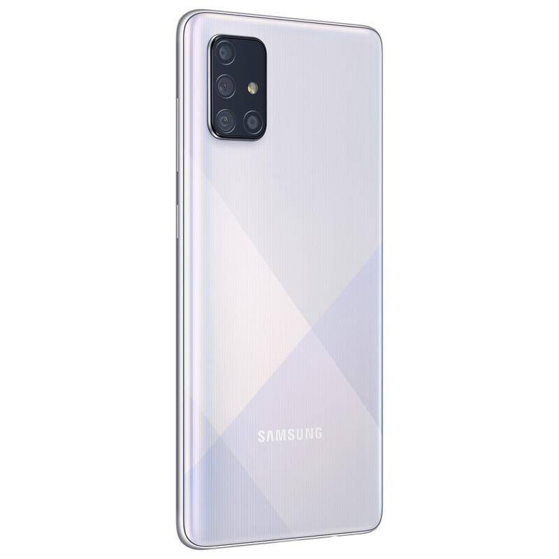 Samsung Galaxy A71 128GB silber Dual-SIM